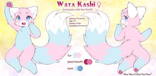 [Reference Sheet] Wata Kashi by ChikoritaMoon