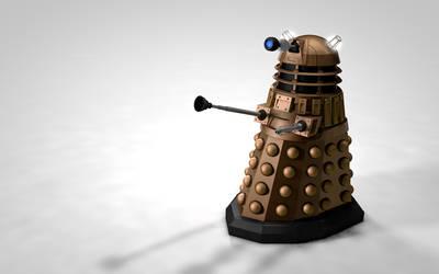 Dalek Textured Render