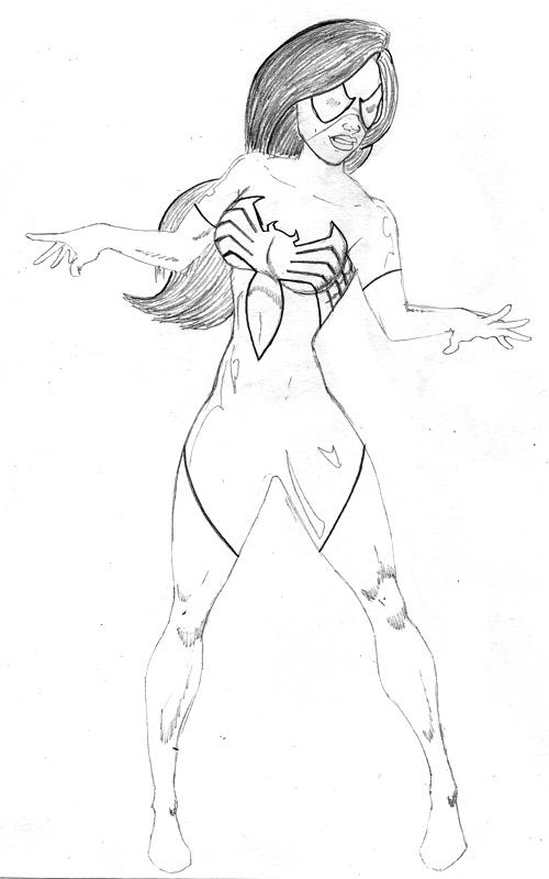 Spider-woman by Maijin-kakarroto