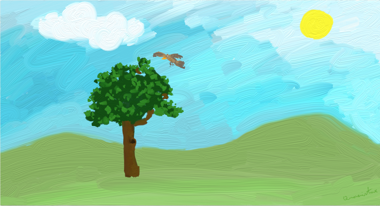 Tree and the Bird by quazistax