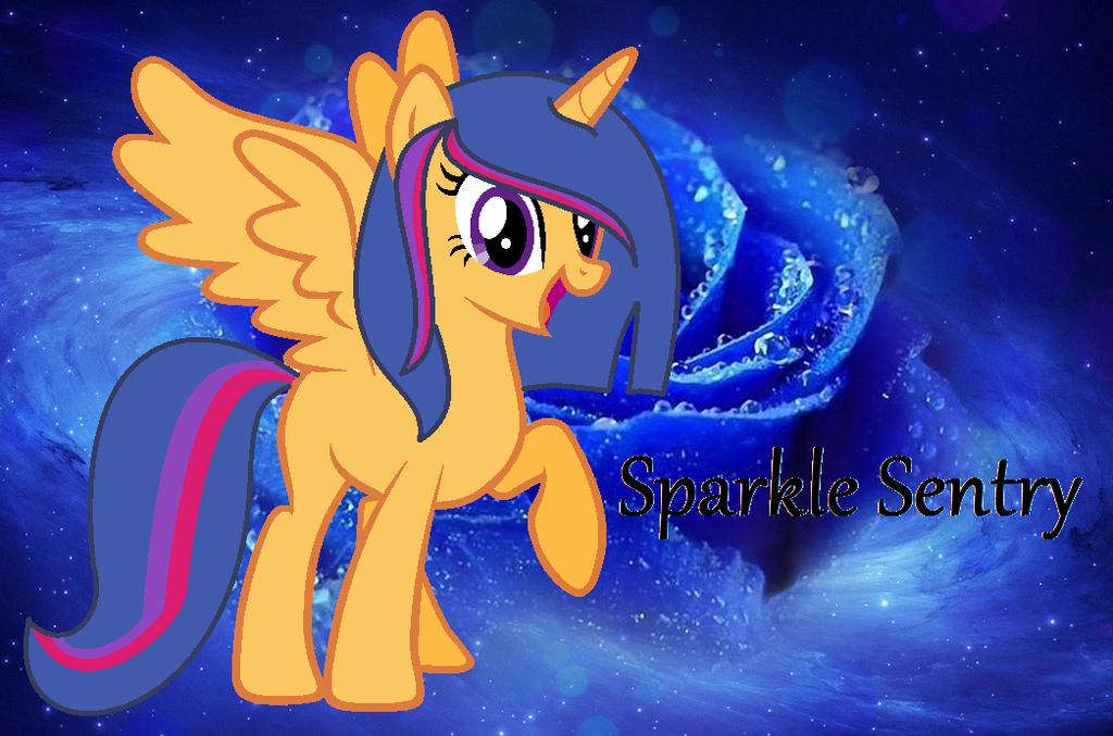 Sparkle Sentry background by Stephaniekelly