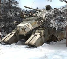 PzKpf VI JagdKampfer - Winter