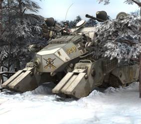 PzKpf VI Donner Ausf F Winter