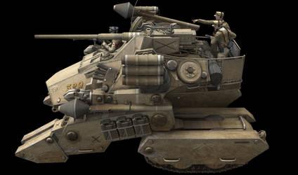 PzKpf VI Donner Gun Crew Test