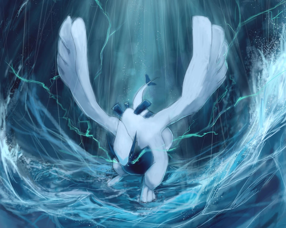 Realistic Lugia wallpaper by