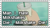 Man I Hate Milkshakes Stamp by Wing-Wing-Senri
