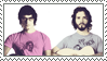Flight of the Conchords Stamp by Wing-Wing-Senri