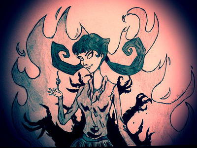 Don't Starve - Willow   Let it All Burn by ITellMyselfSecrets
