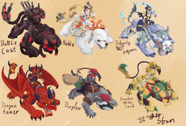 Sejuani skins that will never happen ver 4 by Hyper-Stan