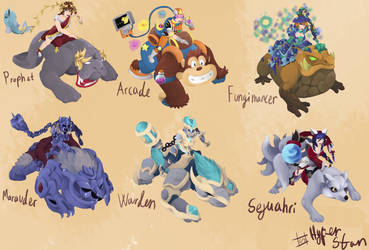Sejuani skins that will never happen ver 7 by Hyper-Stan