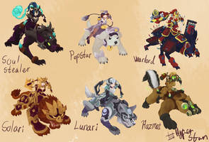 Sejuani skins that will never happen ver 9 by Hyper-Stan