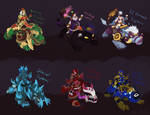 Sejuani skins that will never happen ver 10