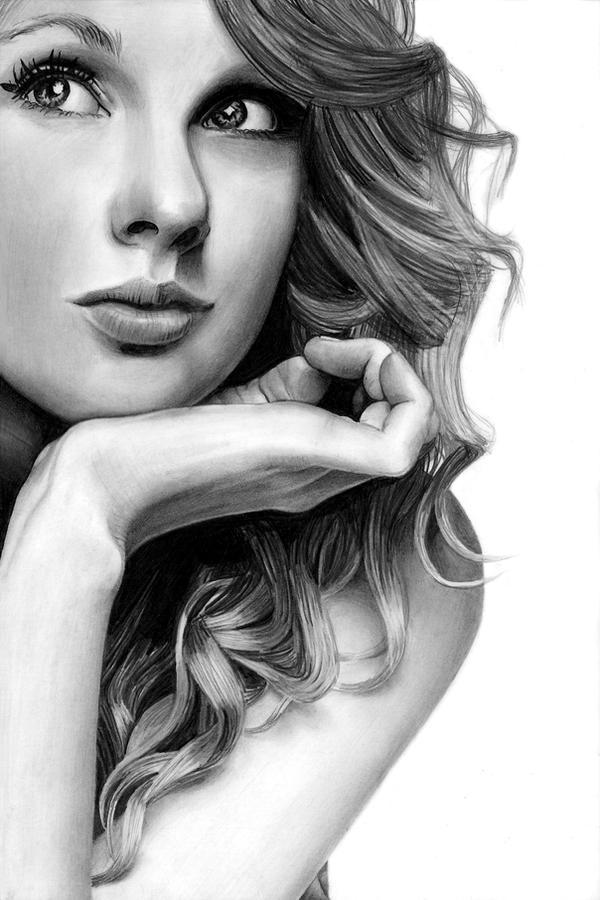 Drake Pencil Drawings Taylor swift pencil drawing by