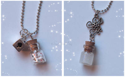 Tiny Bottles by SaraNekoChan
