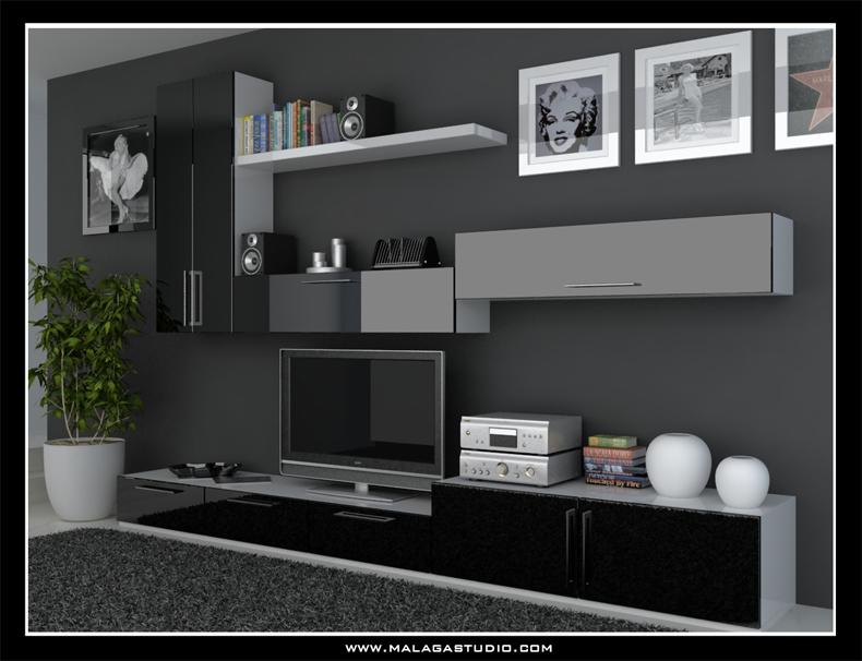 Wonderful Wall Units Design By Malagastudio ...