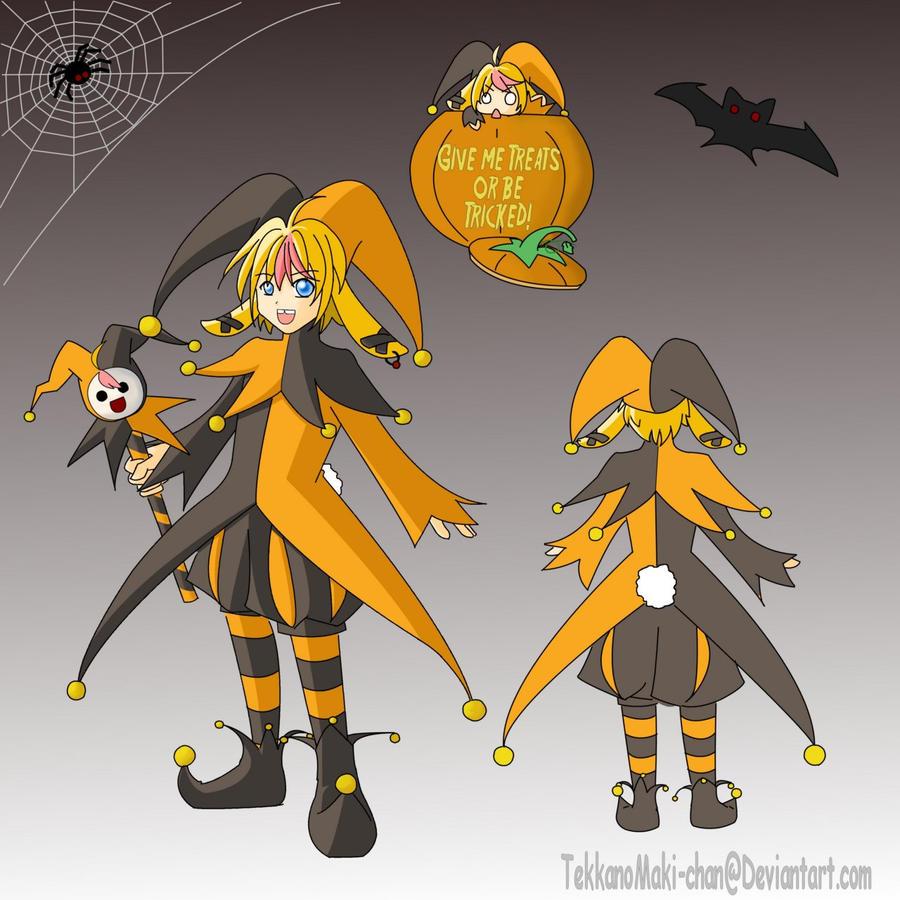 Anime Jester Characters : Jester toko kun by tekkanomaki chan on deviantart