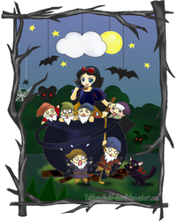Hungry Snow White by TekkanoMaki-chan