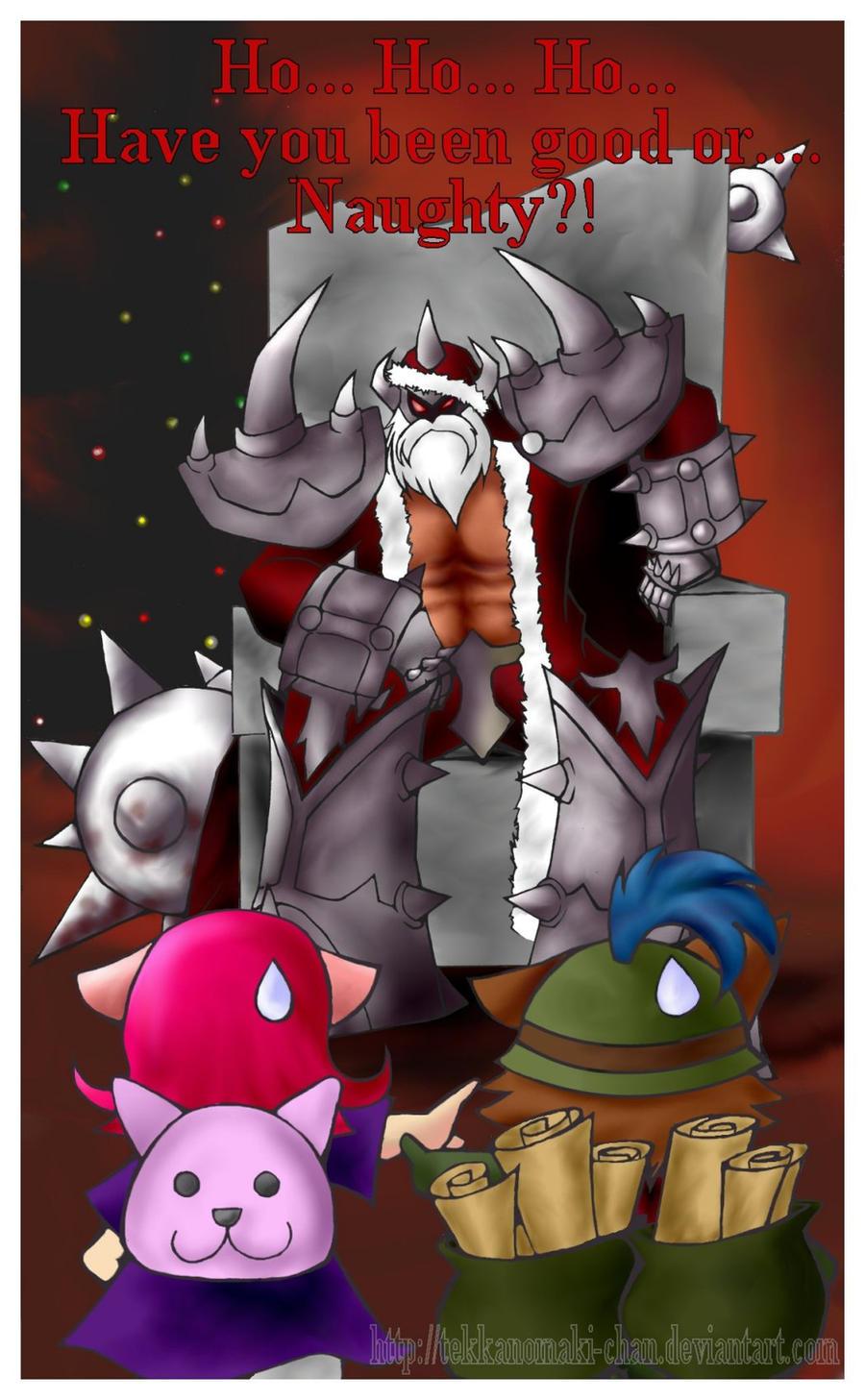 Santa Mordekaiser by TekkanoMaki-chan