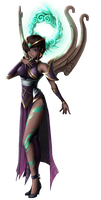 Karma [League of Legends Art Collab]