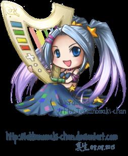 Chibi Sona: for Verdacted by TekkanoMaki-chan