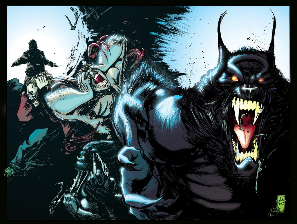 Werewolf Vs Vampire Vs... Zombie Vs Vampire Vs Werewolf