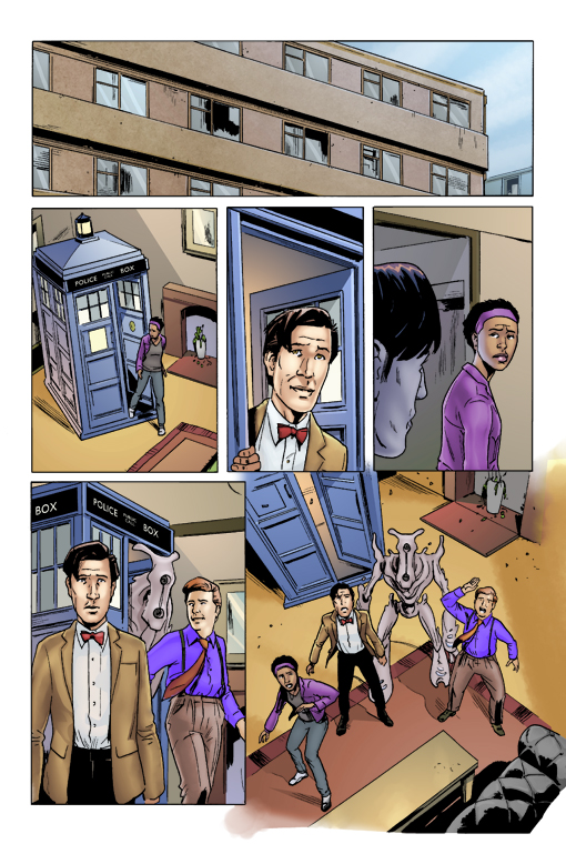 Doctor Who Issue 7 by Jasen-Smith