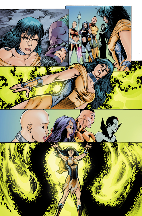 INFINITY MAN AND THE FOREVER PEOPLE #8 by Jasen-Smith