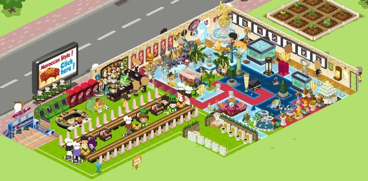 My restaurant city inside by ksuc on deviantart