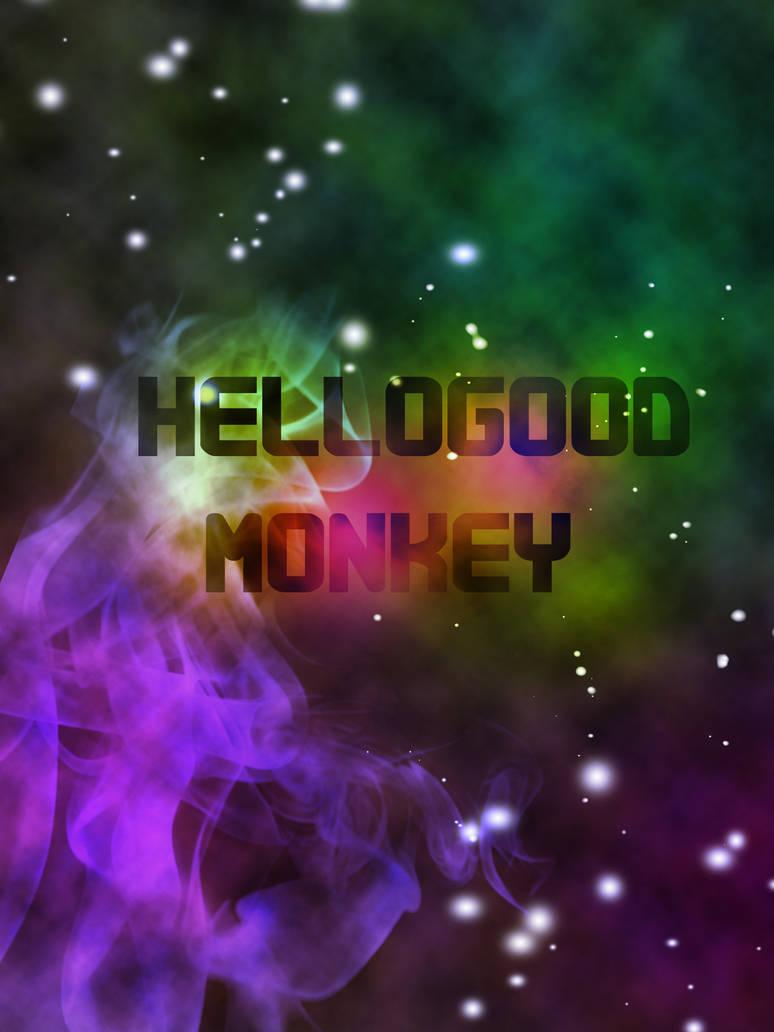 Hellogoodmonkey Space poster