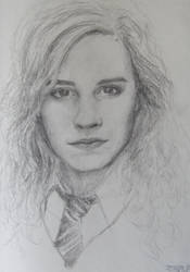 Hermione quick drawing by artizd
