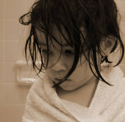 After Her Bath by artizd