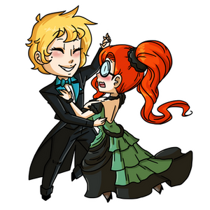 Chibi Commission by MTC: Let's Dance