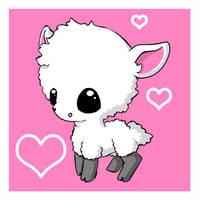 I Love Llamas by moo-chi-64