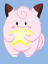 Clefairy (Pokeddexy Challenge Day 5) by MonstersAndRainbows