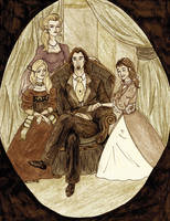 The Greengrass Family by GloomyPippi