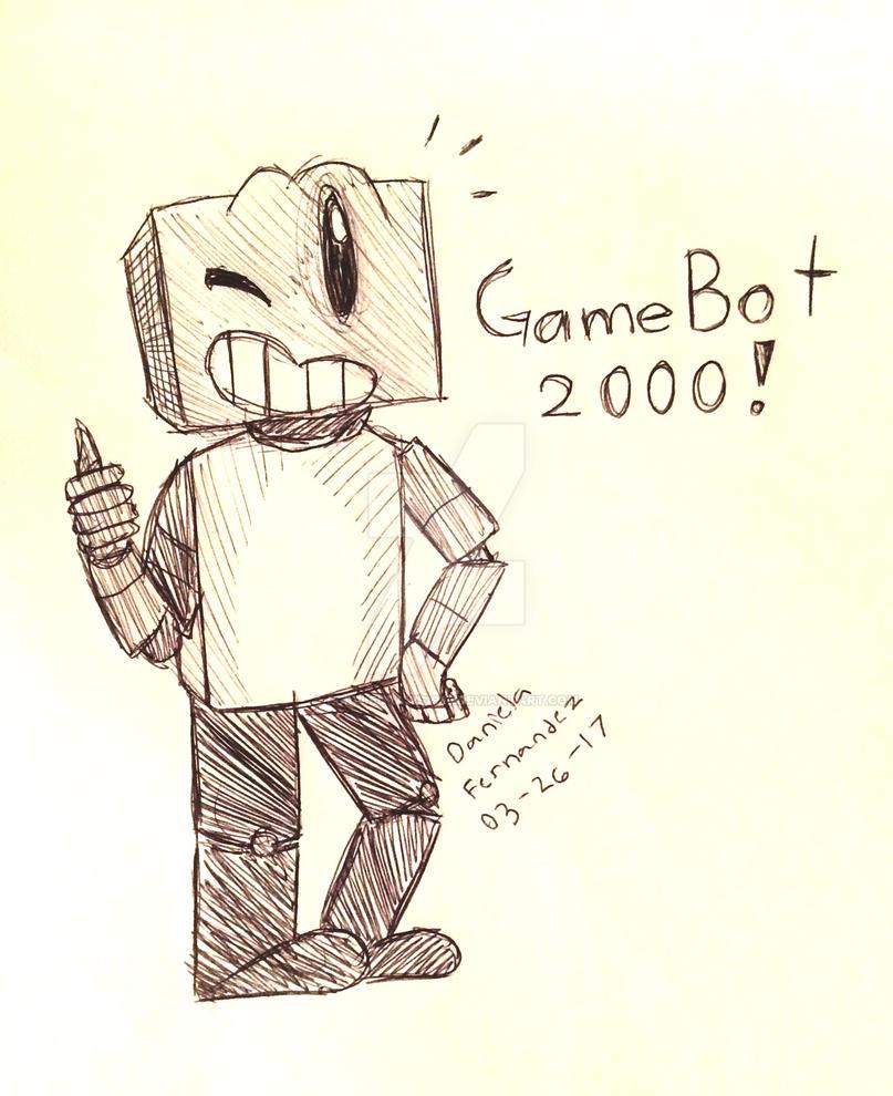GameBot 2000 by PurpleDraws1987