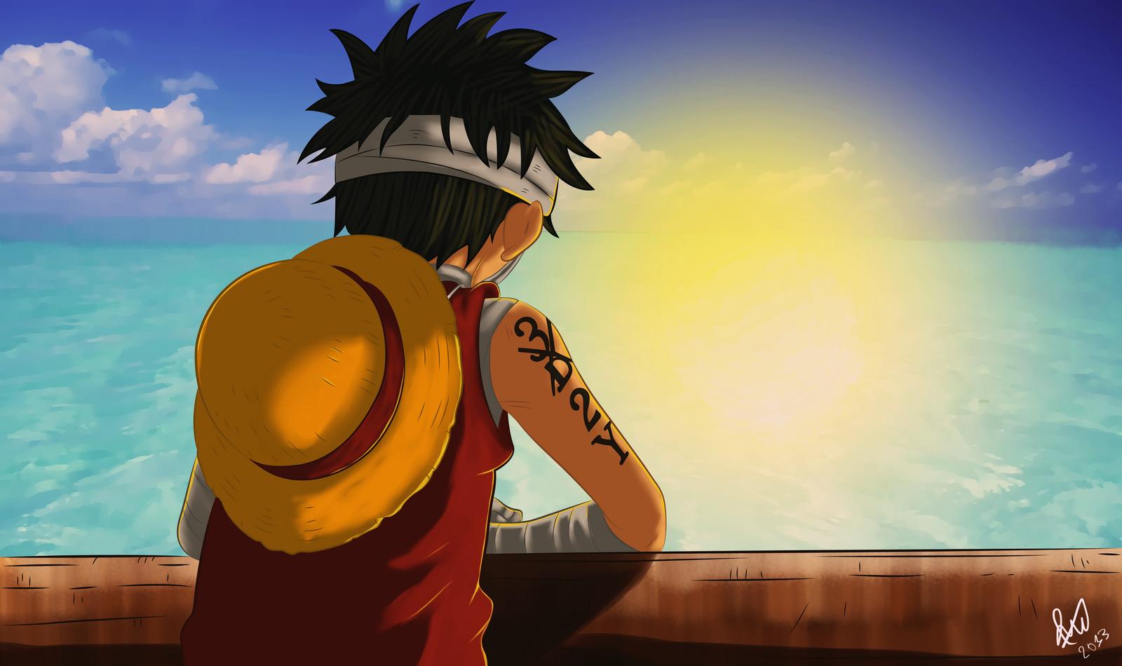 One Piece - 3D2Y by TaKa-No-Mi on DeviantArt