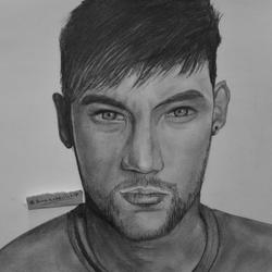 My drawing of #Neymar by TaKa-No-Mi