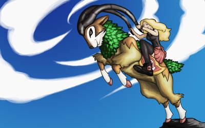 Pokemon - Gogoat - Run Free