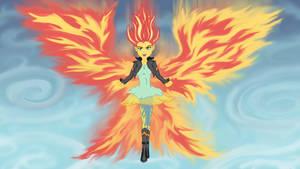 Super Sunset Phoenix by Angel-Pup