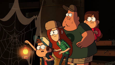 #4 Into The Bunker from Gravity Falls (Fav Eps)