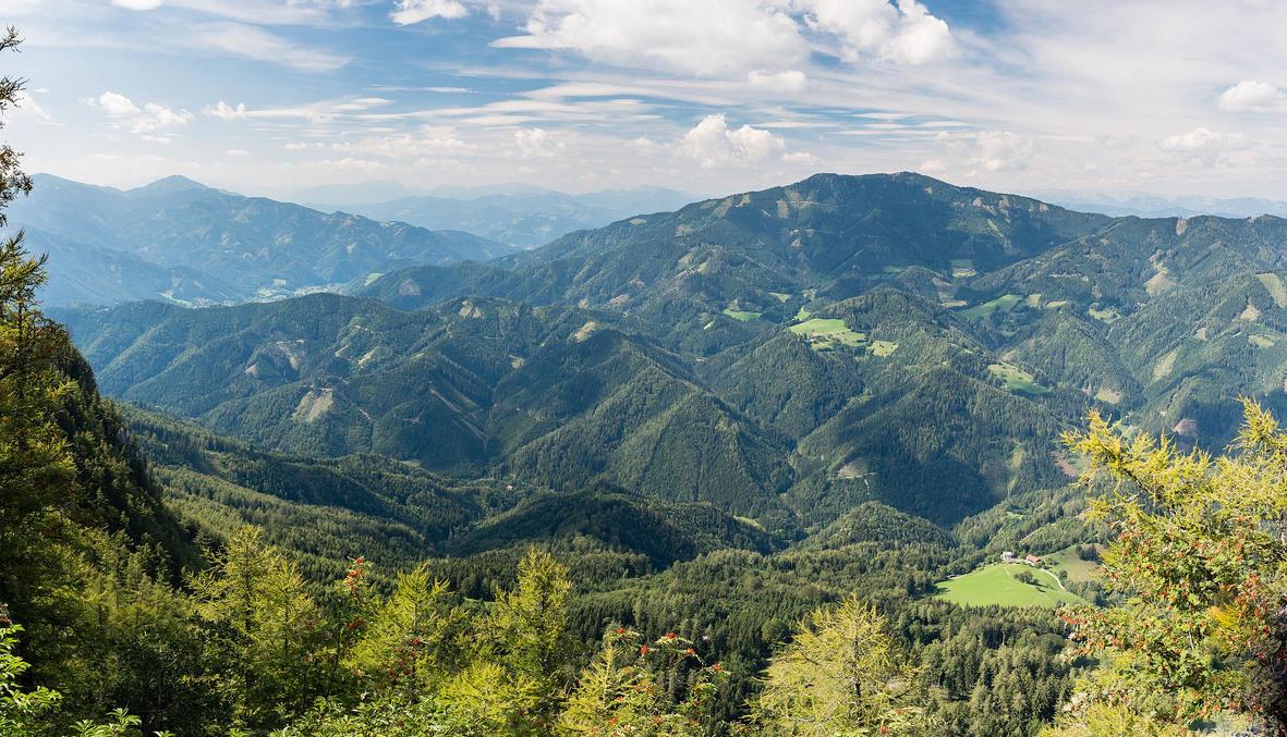 View from Steirischer Jokl by Pepul