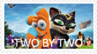 Two By Two Stamp by NightmareBear87