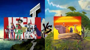 Teen Titans VS. The Lion Guard Death Battle