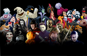 Disney and Horror Villains