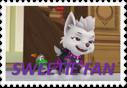 Sweetie Fan Stamp - Paw Patrol by NightmareBear87