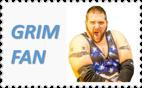 Grim Fan Stamp - Grim's Toy Show by NightmareBear87