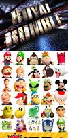 SuperMarioLogan 30 Characters Royal Rumble