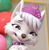 Paw Patrol Sweetie's Cute Face Emoticon Icon by NightmareBear87