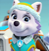 Paw Patrol Everest's Cute Face Emoticon Icon 2